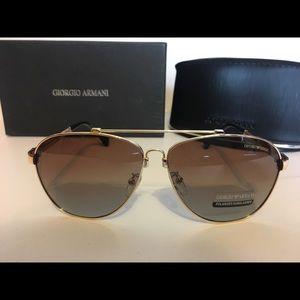 Armani sunglasses light Brown tint